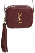 Saint Laurent 'Monogram Mini Blogger' Crossbody Bag - Red