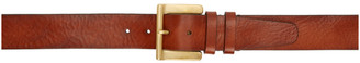 Paul Smith Tan Wide Buckle Belt