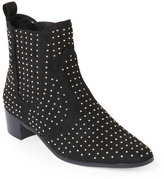 BCBGeneration Black Ryan Studded Ankle Booties