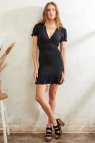 A Love Like You Smocked Mini Dress Black M