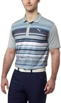 Puma Washed Stripe Golf Polo Shirt