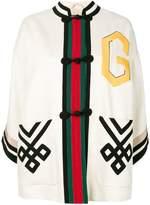Gucci caban-kimono jacket