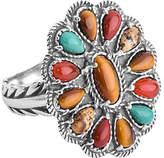 American West Earth-Tone Multi-Gemstone Ring