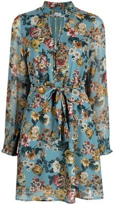 Liu Jo Floral Print Flared Dress