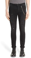The Kooples Men's Distressed Jeans With Chain