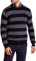 Scotch & Soda Patterned Crew Neck Sweater