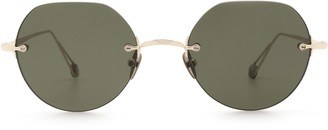 AHLEM Place Rodin Grey Gold Sunglasses