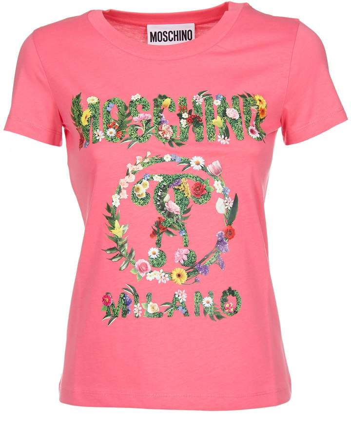 Moschino Women's A070304403206 Cotton T-Shirt