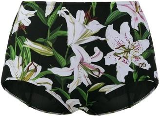 Dolce & Gabbana lily high waist bikini bottoms