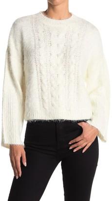 BB Dakota Feelin Lashy Eyelash Knit Sweater
