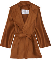 Max Mara Gas Cashmere Wrap Coat - Brown