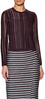 O'2nd Giverny Stripe Paneled Sweater