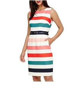 Phase Eight Faye Striped Dress
