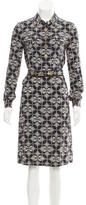 Tory Burch Silk Printed Dress