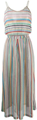 Missoni Mare cropped striped jumpsuit