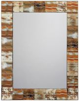 Jamie Young 36-Inch x 28-Inch Natural Faux Horn Rectangle Mirror