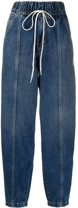 Givenchy drawstring waist jeans