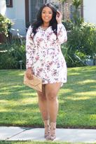 Forever 21 Plus Size Floral Shirt Dress