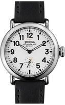Shinola Women's 'The Runwell' Leather Strap Watch, 36Mm
