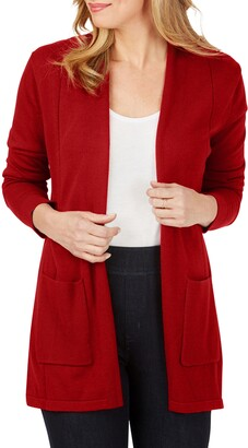 Foxcroft Bethanie Open Front Cardigan