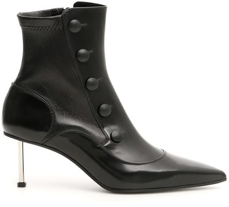 Alexander McQueen Calfskin Booties