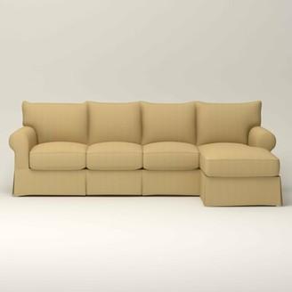 Birch LaneTM Heritage Jameson Slipcovered Sofa with Chaise Birch LaneTM Heritage
