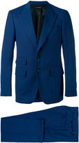 Tom Ford pointed lapels two-piece suit - men - Silk/Cupro/Wool - 46