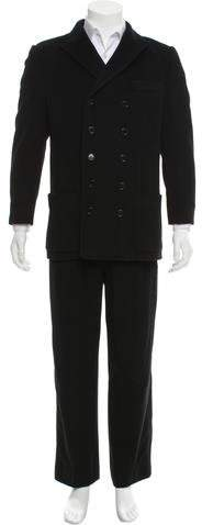 Dolce & Gabbana Felted Cashmere Suit