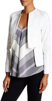 Derek Lam 10 Crosby Structured Notched Peplum Blazer