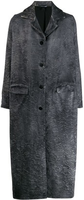 Avant Toi Distressed Effect Coat