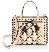 Kate Spade Hayes Street Woven Leather Crossbody Bag