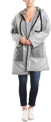 Rachel Roy Plus Long Raincoat