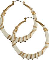 Embedded Chain Earrings