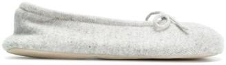 N.Peal Fur Lined Slippers