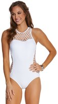 Seafolly Mesh About High Neck One Piece Swimsuit 8126250