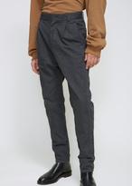Robert Geller Charcoal The Casual Dress Pant