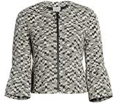Akris Punto Ikat Printed Bell-Sleeve Jacket