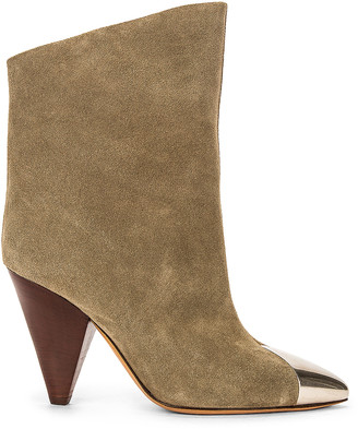 Isabel Marant Lapee Boot in Taupe | FWRD