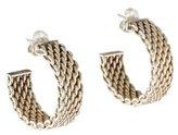 Tiffany & Co. Wide Somerset Hoop Earrings