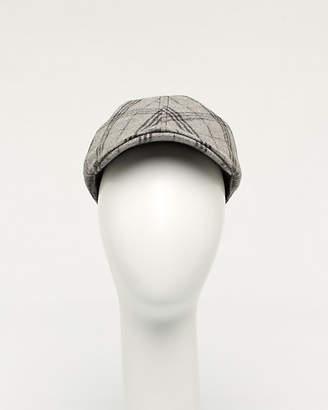 Le Château Check Wool Blend Ivy Hat