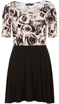 Dorothy Perkins Rose fit and flare dress