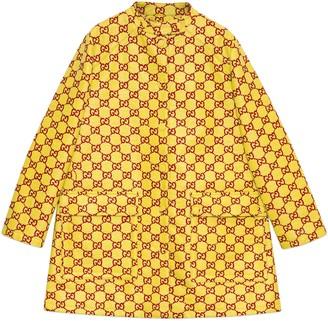 Gucci Water resistant GG tweed coat