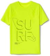 Gap Surf graphic short sleeve rashguard