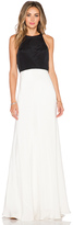 Jill Stuart JILL Color Block Maxi Dress
