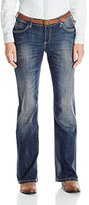 Wrangler Women's Shiloh Ultimate Riding with Heavy Embroidery Jean