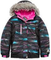 ZERO XPOSURE ZeroXposur Snow Board Leena Long-Sleeve Faux-Fur Hooded Jacket - Girls