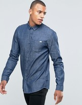 Jack & Jones Overdye Chambray Shirt