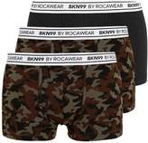 Brooklyn's Own By Rocawear 3 Pack Shorts Khaki/camo
