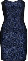 Pierre Balmain Metallic cotton-blend mini dress