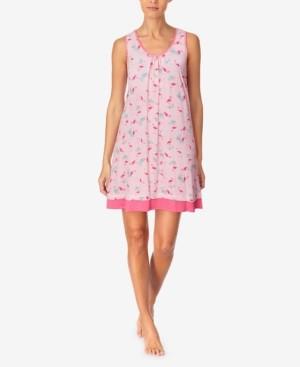 Cuddl Duds Women's Printed Sleeveless Nightgown